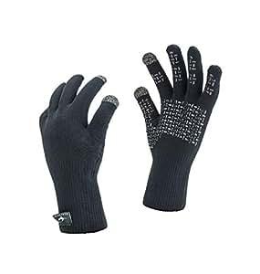 SealSkinz Waterproof Ultra Grip Gloves, Black, S