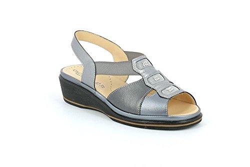 Grunland SA1735 ELOI Sandalo Donna P. Asfalto