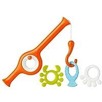 Boon Cast Fishing Pole Bath Toy - Orange
