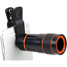 DURAGADGET Zoom, objetivo, lente, telescopio + gamuza limpiadora para smartphone LG G350 , G5 , K10 , K3 , K4 , K5 , K7 3G , K7 LTE , K8 V , K8 , Optimus Zone 3 , P780 .