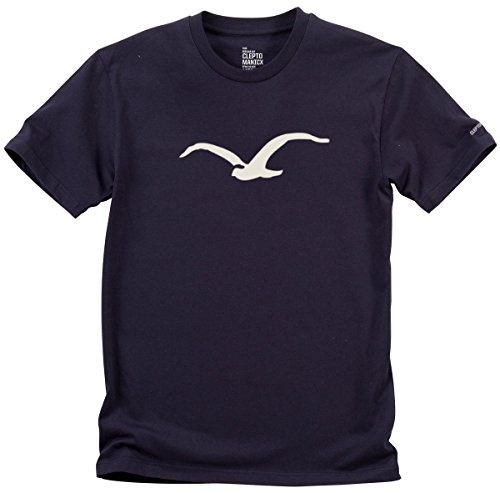 Cleptomanicx Herren T-Shirt Navy