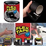 #9: Shopee Branded Home Soul Strong Rubberized Waterproof Flex Tape Instantly Stops Leaks Black Color 4