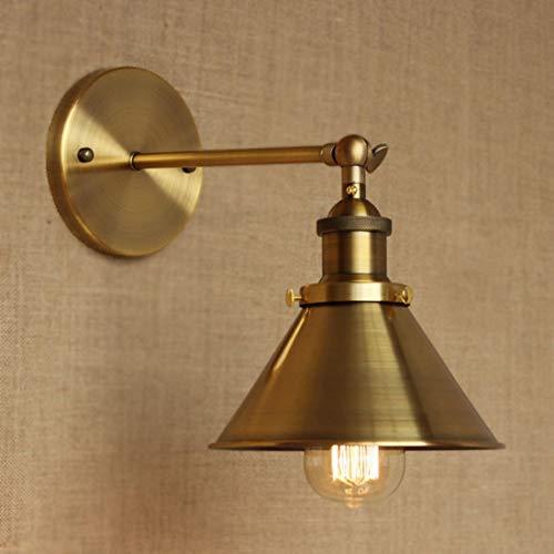 BYDXZ / Applique Murale en Laiton Applique Murale Suspension Plafonnier Métallique E27 Cap pour Chambre à Coucher Chambre d'enfant Loft Barn Kitchen Type 3