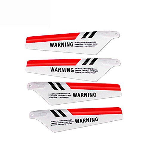 Syma 4pcs/set S107G RC Helicopter Toys Accessories S107c Main Blade Prolellers  available at amazon for Rs.285