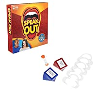 Speak Out Game- Family and Party Game that's a Mouthful of Fun with Game Cards and More ,For Halloween Games