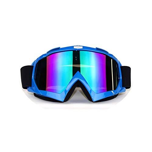 32f424f043 AnazoZ Gafas de Carreras Gafas Moto Hombre Gafas Protectoras Deporte Gafas  de Montar Gafas Protectoras Viento