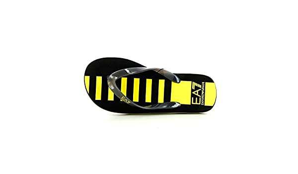 69fc7a0a81a29 Flip Flops Armani EA7 Sea World 7 Lines M Flip Flop 905004 6P295 00020 Dark  Blue  Amazon.co.uk  Shoes   Bags