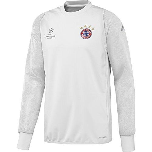 Adidas FC Bayern Munchen UCL TRG Top Sudadera, Hombre, (Blanco/Buruni), L