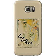 Le Sillon Vintage Poster (artist: Toussaint) Belgium c. 1895 (Galaxy S6 Cell Phone Case, Slim Barely There)