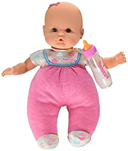 Nenuco Muñeca con biberón mágico y ropita rosa (Famosa 700014121)