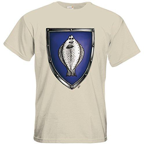 getshirts - Das Schwarze Auge - T-Shirt - Die streitenden Königreiche - Wappen Nostria L Natural