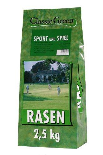 Classic Green Sport-&Spielrasen Papierbeutel 2,5kg