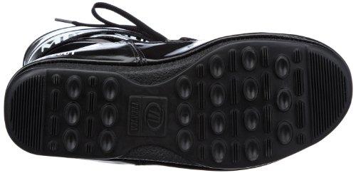Tecnica Moon Boot W.E. Puddle Jumper Mid 24000800011 Damen Fashion Stiefel Schwarz (schwarz - weiss 011)