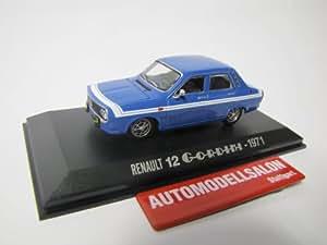 Norev - 511211 - Véhicule Miniature - Renault 12 Gordini 1971 - Echelle - 1/43e