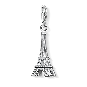 Thomas Sabo Damen-Charm-Anhänger Eiffelturm Paris Charm Club 925 Sterling Silber 0029-001-12