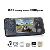 YLM Handheld Game Console, Retro TV Game Console 3 Inch HD Screen 3000