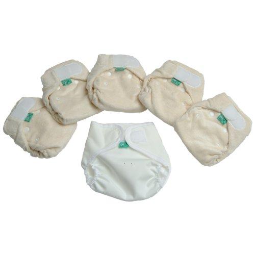 TotsBots Bamboozle Windeln, Stretch, 3-6 kg, Kleinpackung, Größe 1, 5Stück