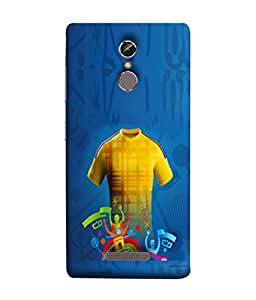 PrintVisa Designer Back Case Cover for Gionee S6S (Round High Neck T Shirt Football Sports Clubs )