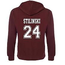 Gildan Beacon Hills Lacrosse MCCALL con Capucha Neuf Teen Wolf-Adults y niños Stilinski 24