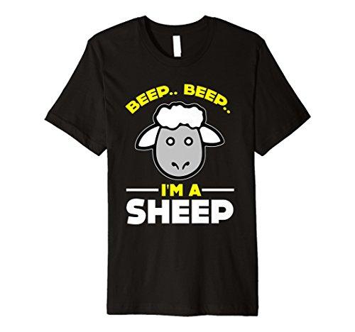 Funny Beep Beep im eine Schaf T-Shirt Farm Zoo Pet