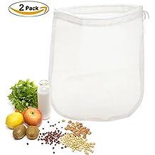 OldPAPA 200μm Nut milk bag, bolsa para hacer leches vegetales,bolsa para hacer queso