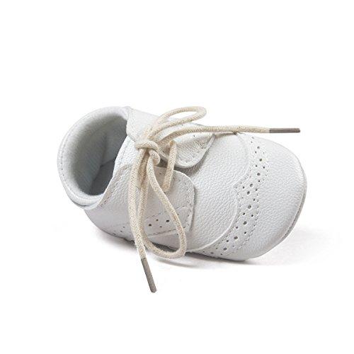 ESTAMICO, Scarpe primi passi bambini bianco White 3-6 mesi bianco