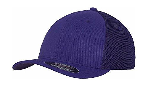 Tactel Flex-cap (Flexfit 6533–Tactel Mesh Cap Gr. S, Violett - Violett)