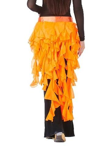 Fox Costume De Danse - Dance Fairy d'orange à neuf queues Fox