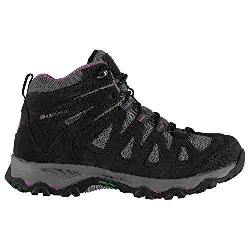 Karrimor Womens Thorpe Mid Walking Boots Lace Up Breathable