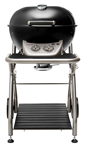 This multi-functional gas BBQ from Outdoor Chef has so many offerings to be desired including direct and indirect cooking, adjustable legs, and bowl levelling feature. An expensive model but its unique features are worth the money.