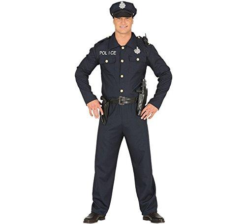 Kostüm Polizist - Fiestas Guirca Kostüm amerikanischer Polizist Polizist Erwachsener