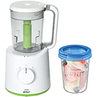 Philips AVENT - Robot de cocina con 5 tarros para conservar la comida, color blanco