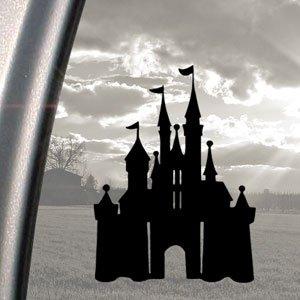 DISNEY CASTLE MAGIC KINGDOM, schwarz, Aufkleber Autoaufkleber