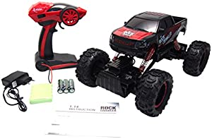 Amewi 22198 - Rock Crawler Pick-up 1: 14, rojo/negro
