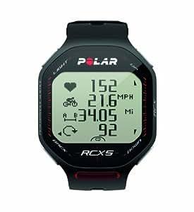 Polar Heart Rate Monitor RCX5 Bike Black Triathlete Running Endurance Fitness