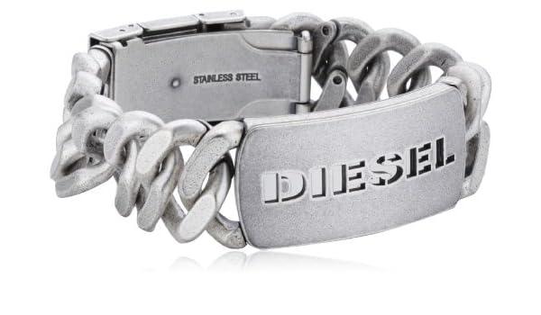 Folded Metal Bracelet Diesel DX1076040