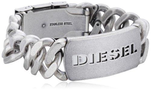 Diesel - Bracciale da uomo, acciaio inossidabile, cod. DX0656040