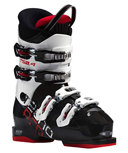 Tecnopro Kinder Ski-Stiefel T50-4 Skistiefel, schwarz/Weiß, 26