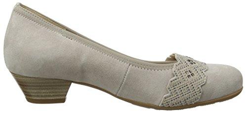 Gabor Shoes 66.134, Scarpe con Tacco Donna, , Grigio (puder 44)