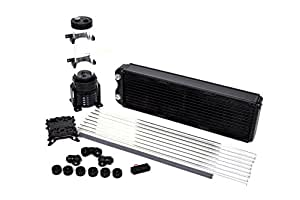 Thermaltake Pacific Riptide 420 Extreme D5 Res/Pump PETG Hard Tube Water Cooling Starter Kit CL-W125-CA12RE-A