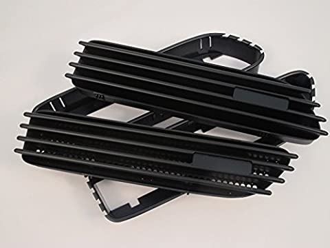 (2) de rechange Noir mat côté grill grille Fender d'aération