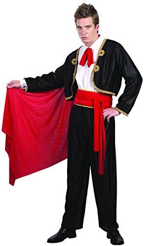 Männer Matador Kostüm - Generique - Matador Kostüm für Herren L