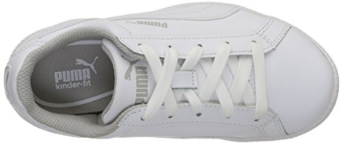 Puma Jungen Smash Fun L Sneaker Blanc (White)