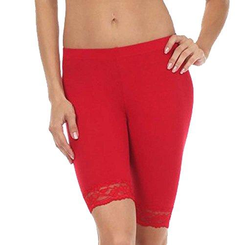 damen-baumwoll-lycra-stretch-ref-2195-geschnurt-trimmen-oberhalb-des-knies-radhose-aktiv-legging-mit