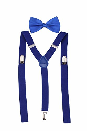mens-classic-solid-suspenders-matching-bow-tie-set-braces-blue