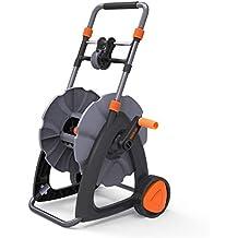 TACKLIFE Schlauchtrommel, 45m Mobile Schlauchwagen ohne Schlauch, Herumdrehen, Flexibilität Für Ihre Garten - GWRC2B
