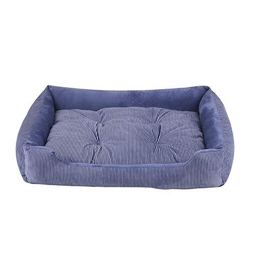 Lifemaison cuccia letto per animali domestici canile estraibile e lavabile letto per cane gatto 1 pcs