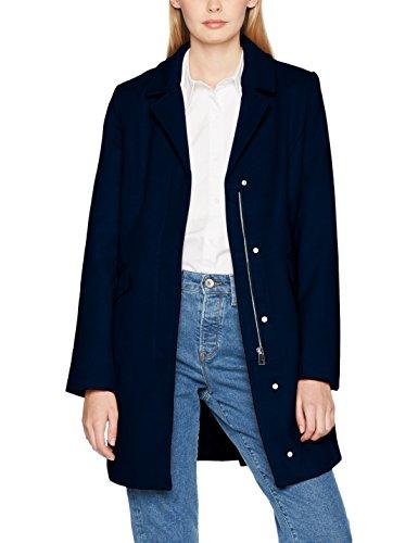 VERO MODA Damen Jacke Vmaugust 3/4 Jacket, Blau (Navy Blazer Navy Blazer), 40 (Herstellerg Preisvergleich
