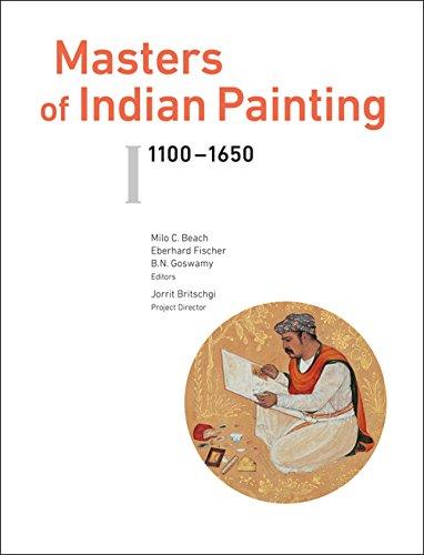 Masters of Indian Painting: Vol. 1 - 1100-1560 & Vol 2. - 1650-1900 (Artibus Asiae Publishers Supplementum)
