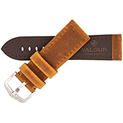 Valour Sopwith Aviator Vintage Golden Brown Watch Strap